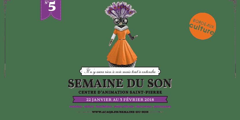 Semaine du son Bordeaux