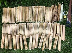 Flutes tuning