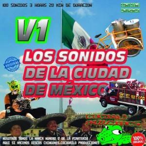 Los Sonidos de la Ciudad de Mexico VOL 1 recto